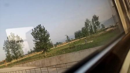 20200516 070756 【延时摄影】实拍阳安线客车8361次列车运行于汉中站至欧家坡站区间