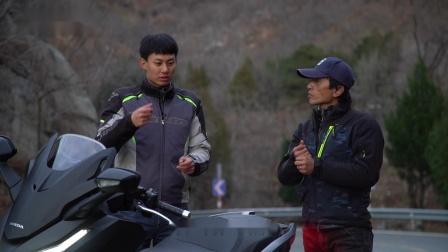 【摩托车杂志】车评:试驾Honda NSS350,精品踏板应有的样子!