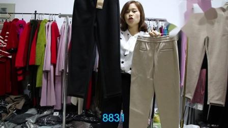 新款女装精品女装批发服装批发女装货源时尚女士特价冬款裤子30件一份