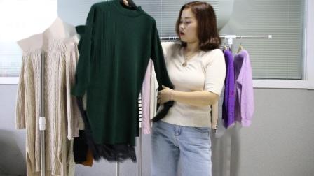 新款女装精品女装批发服装批发女装货源时尚女士特价毛衣30件