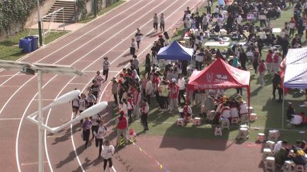 云南师大附属润城学校初二年级女子800米一
