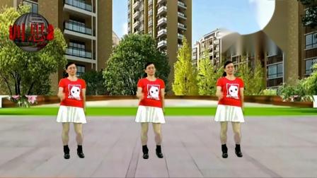 2020龙川思念广场舞个人版演示:微信拍一拍