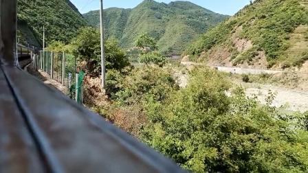 20200516 154524 【延时摄影】宝成线客车6063次列车运行于王家沱站至乐素河站区间