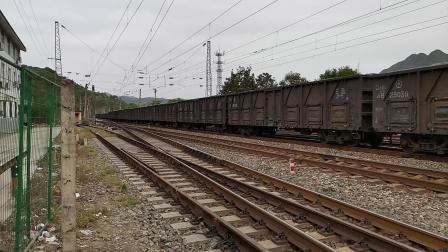 20200516 170919 阳安线HXD2货列进阳平关站