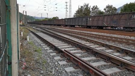 20200516 194147 阳安线HXD2货列进阳平关站