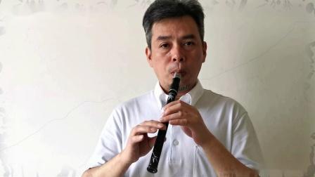 C调 4 5 6 7 四个音及重吹提高一个八度 -【梦想】爱尔兰哨笛教程(系列)