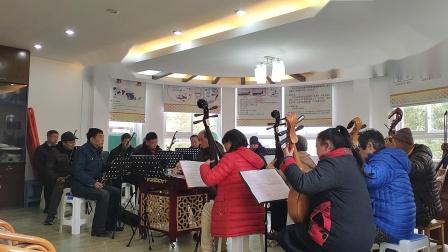 《湖光月色》排练1 苏州留韵民乐团