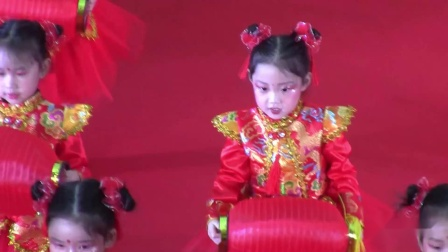 展翔幼儿园舞蹈:说唱中国红