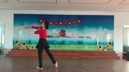 朱老师舞蹈系列······《我的中国梦》教学版背面.