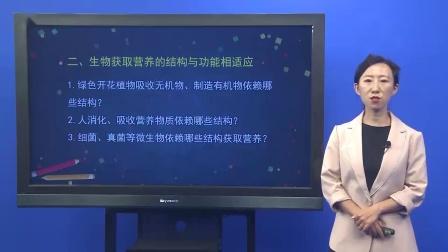 初一【生物(北京版)】第四章 生物的营养 生物的营养复习
