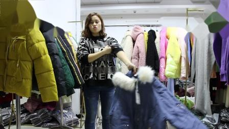 新款女装精品女装批发服装批发女装货源时尚女士新款短款棉衣棉服走份20件一份