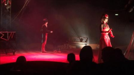 I Cut in Half Circus Act I Moscow Circus_1080p