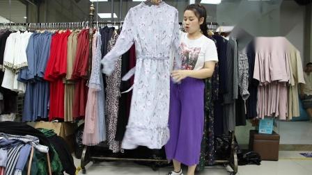 新款女装精品女装批发服装批发女装货源时尚女士新款秋装连衣裙20件起批~1