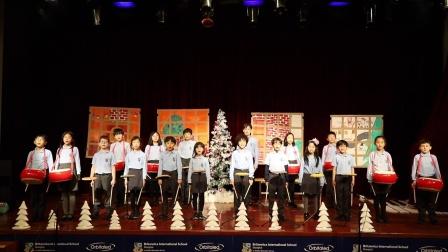 Britannica Winter Concert 2020 - Drumline Jr