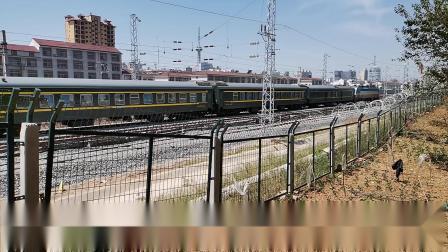 20200605 111118 阳安线客车K291次列车进汉中站