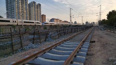 20200605 190501 西成高铁G1281次列车进汉中站