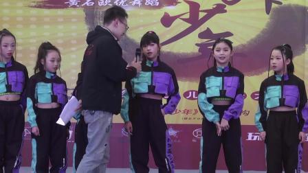 黄石欧优舞蹈首届【精舞少年】全国少儿街舞大赛齐舞亚军227knock out kids