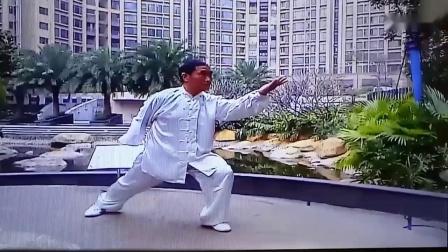 健身气功易经筋蔡许承演练于广州天鹅湾住宅小区(重配乐加字幕)