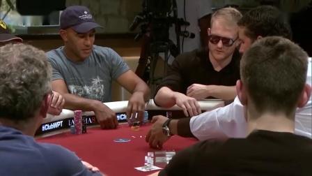 德州扑克:WPT巡回赛精彩手牌14:娱乐玩家中了顶对真是弃不掉啊