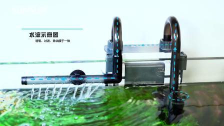XBL鱼缸壁挂式过滤器