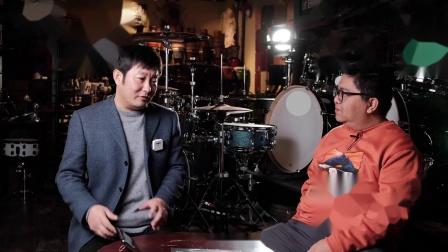 津宝乐器总经理刘运斌先生专访第一期 鼓左言右节目组出品