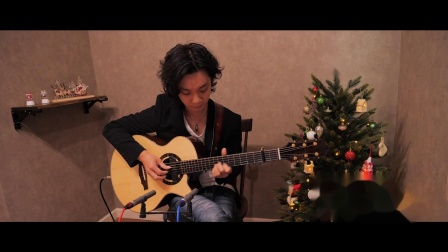 Santa Claus is Coming to Town (Fingerstyle Guitar)  Yuki Matsui 松井祐贵.flv