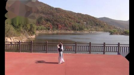 扇舞《梁祝》表演者 且吟春语  摄于2020-11-9