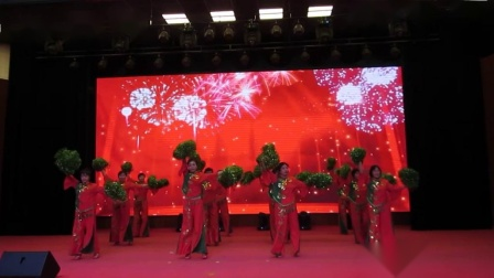 北镇市秧歌舞蹈协会《新年汇演》富源城堡舞蹈队《制作-东明》2020.12.23