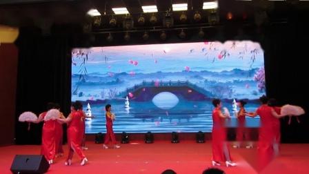 北镇市秧歌舞蹈协会《新年汇演》玫瑰花旗袍队《制作-东明》2020.12.23