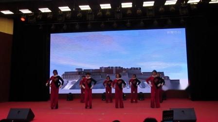 北镇市秧歌舞蹈协会《新年汇演》青堆子开心炫舞队《制作-东明》2020.12.23