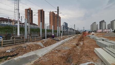 20200606 135908 阳安线客车08362次列车出汉中站