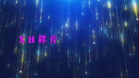 B920醒不来的梦唯美梦幻抒情光效粒子雨花瓣爱心歌曲舞蹈配乐成品led大屏幕舞台背景视频素材