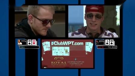 德州扑克:魔术师冲动了一下下,结果被KK教育了