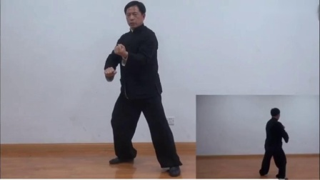 太极拳八法五步竟赛套路教学_超清