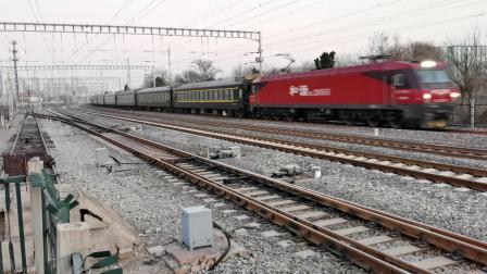20201221_165851 济局济段HXD3D-0583牵引K285次(北京-烟台)柳村线路所1道通过