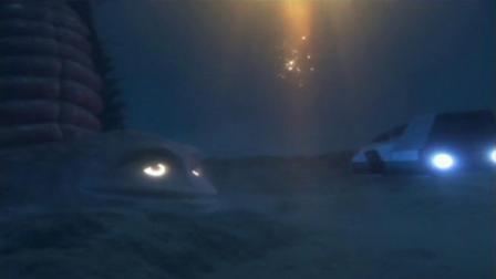 梦比优斯:梦比优斯海底勇斗,水中怪兽游刃有余,困住梦比优斯