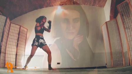 Fightingdream: eva-kickboxing-pov-sparring-demolition