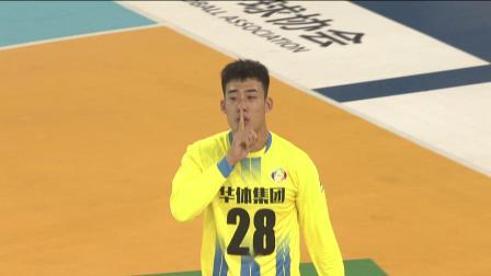2020中国男子手球超级联赛25日五佳进球