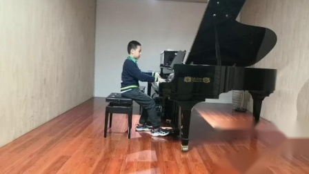 王孜珩+钢琴+小学甲组+448+肖邦练习曲第五条