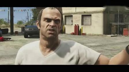 游戏音乐-你可见过如此屌炸天的《GTA5》 (饭制版)(标清)