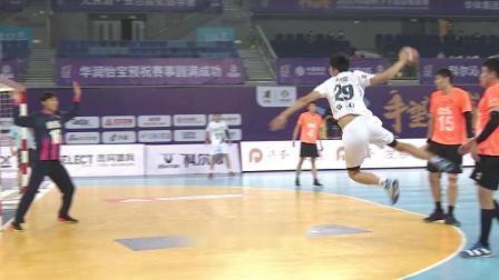 2020中国男子手球超级联赛27日五佳进球