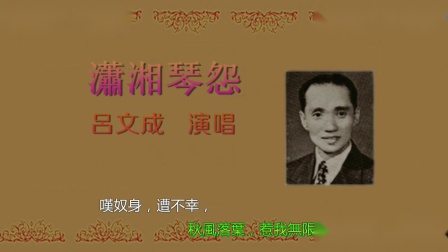 呂文成-瀟湘琴怨
