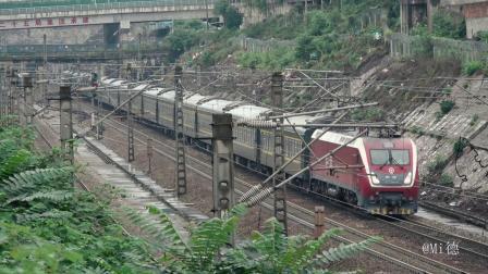 [火车]HXD1D+25G[K356]广州-重庆 京广线长沙 上行