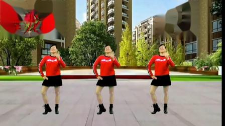 2020龙川思念广场舞个人版演示:开心过好每一天