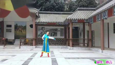 重庆李明琼原创蒙古舞《今夜草原有雨》演绎:心言