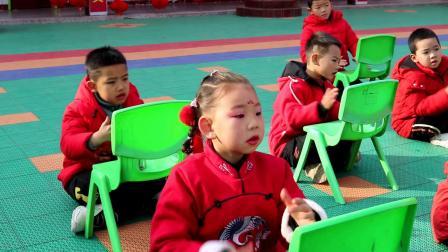 临猗角杯双语幼儿园2021年大班元旦表演