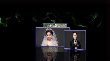 震撼婚礼婚照展示