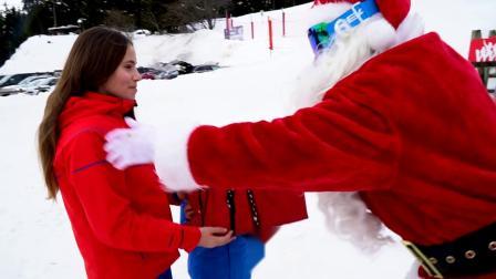 圣诞老人来到Crans-Montana了