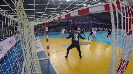 2020中国男子手球超级联赛28日五佳进球