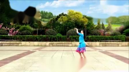 応子广场舞黄玫瑰(新版)応子背面演示_高清_标清